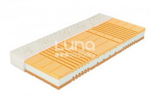 Maximálne komfortný (luxusný) matrac Aroma Visco, dominantný svojou výškou (výška matraca 22 cm) a použitými materiálmi.