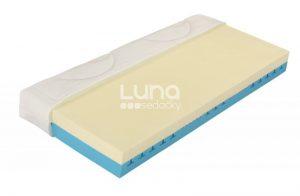 Luxusný model dvojvrstvových matracov Curem s ventilačným jadrom, veľkou výškou a jedinečnými vysokoobjemovými penami CuremfoamTM.