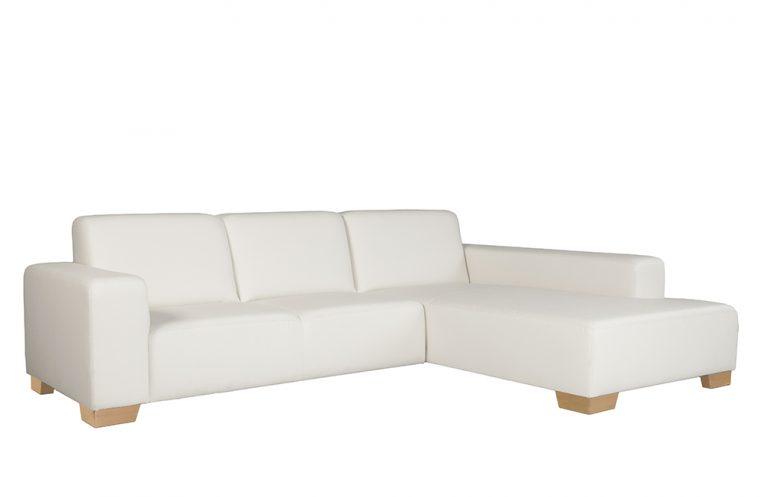 Trendová sedačka DAKOTA v krémovej farbe.