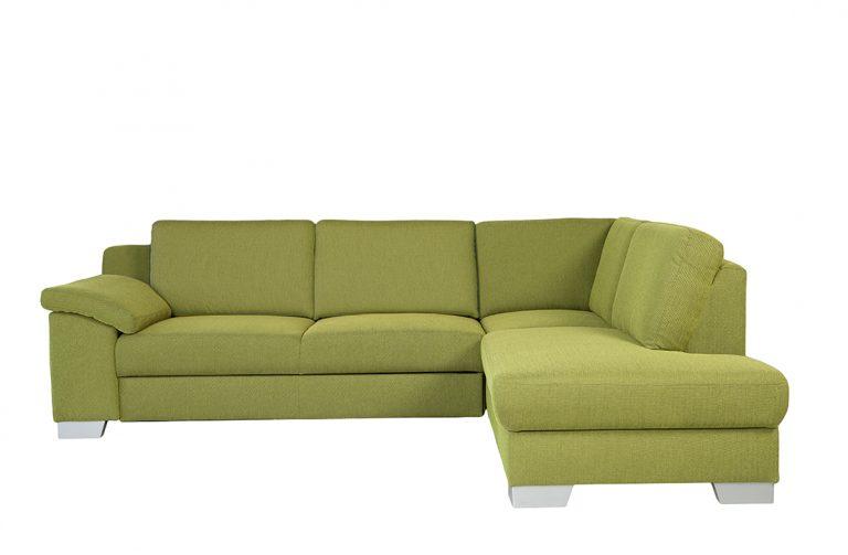 Rozkladacia sedačka DOVER v zelenej látke.