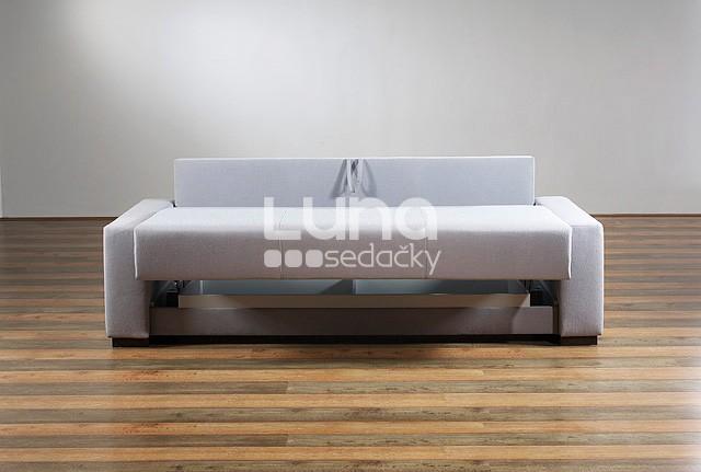 Rozkladacia sedačka ARIZONA v rozloženom stave.
