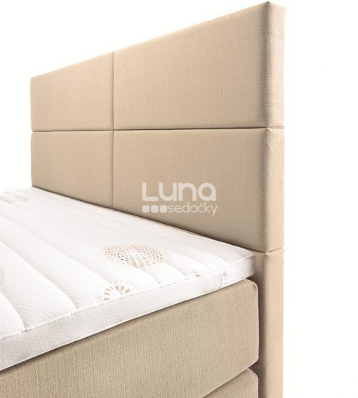 Kontinentálna posteľ ORIGINAL BOX BED, čelo CUBE.