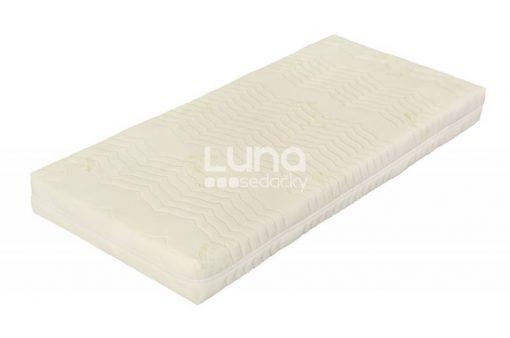 Skvelý matrac z lenivej peny s možnosťou výberu výšky (18 alebo 20 cm).