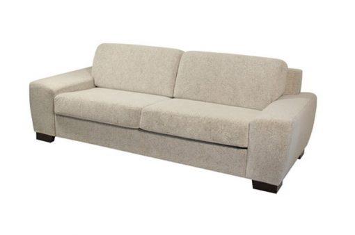Pohodlná rozkladacia sedačka ORLANDO v béžovej farbe.