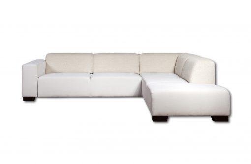 Moderná sedačka MAMBA v krémovej farbe.