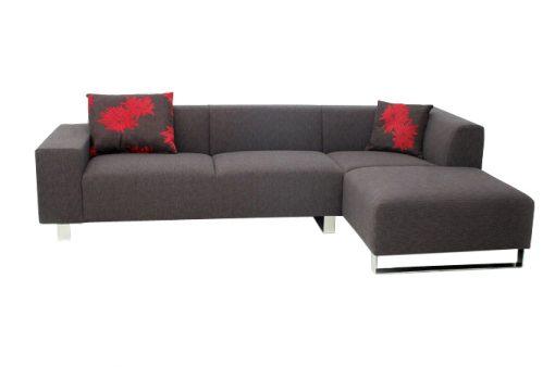 Moderná sedačka MAMBA PLUS v hnedej farbe.