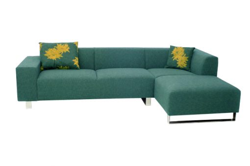 Moderná sedačka MAMBA PLUS v tyrkysovej farbe.