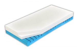 Prierez luxusným matracom Curem 4500 s ortopedickými vlastnosťami.