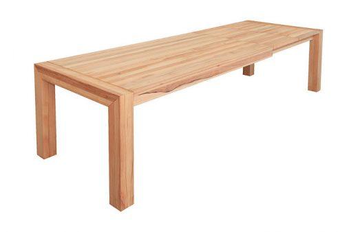 Jedálenský stôl BIG rozložený s dvoma prídavnými doskami.
