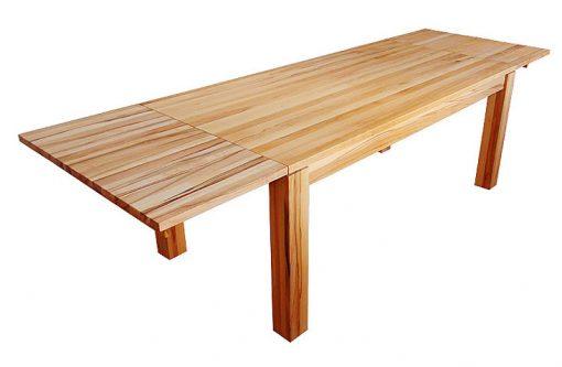 Rodinný jedálenský stôl LUX po rozložení.