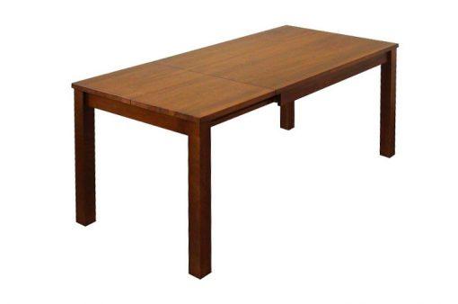 Celomasívny jedálneský rozkadací stôl MARIO po rozložení.