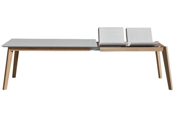Detail na rozkladanie jedálenského stola PREMIER.