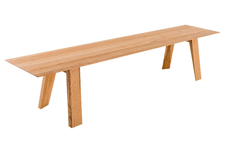 Lavica TENKY je výborným doplnkom k jedálenskému stolu TENKY.