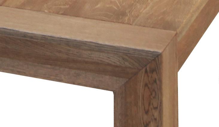 Detail na spoločenský stôl Bigy, dizajn: Alojz Karpiš.