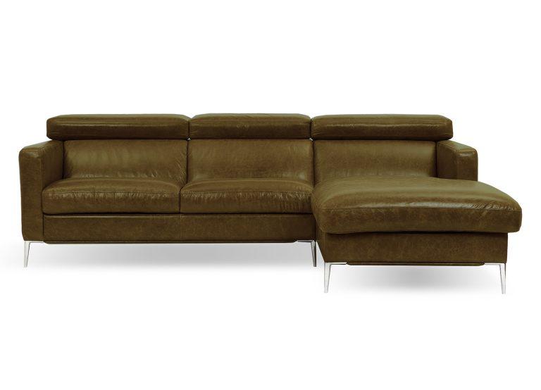 Dizajnová sedačka LUNA v spája elegantný dizajn s vysokým komfortom sedenia.