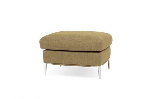 Taburet LUNA v hnedej farbe spája elegantný dizajn s vysokým komfortom sedenia.