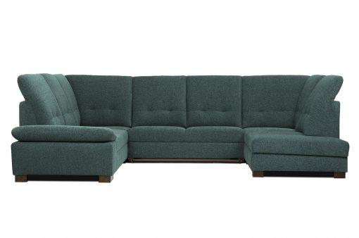 Pohodlná polohovateľná sedačka MALMO s možnosťou úložného priestoru a rozloženia lôžka na príležitostné spanie.